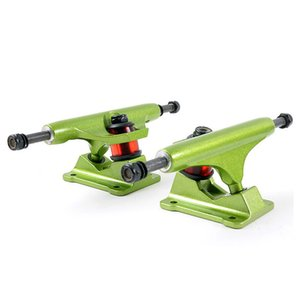 Action Sports Street Bridge 4Colors Available Plate Bracket Skateboarding Roller Wave Board Hollow Casting Anchor Truck For Big Kids