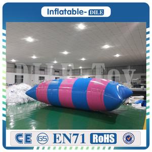 Trasporto libero 0,9 mm PVC 6x3 m Goccia di salto gonfiabile, Blob di acqua gonfiabile, borsa di rimbalzo in vendita