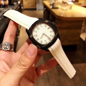 세련된 성격 남성용 시계 .316L 스테인리스 스틸 검정색 케이스, 흰색 다이얼이 더욱 눈부 십니다. 사파이어 거울. 수입 된 자동 기계공