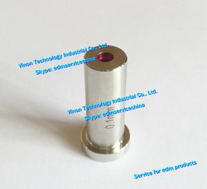 (2pcs) Ø0.10 AGIE Taladro Guía de Rubí Tipo 35x16x12mm para tubo edm para la pequeña máquina de perforación del orificio de edm Actspark SD1, Charmilles HD30, Agie taladro.
