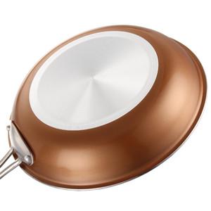 """Eco friendly PC 1 Safari Brass olla de cerámica no -Stick Pan de leche sopa Pot sartenes Sartenes Pan 28/11 """"Herramientas de Cocina Sartenes"""