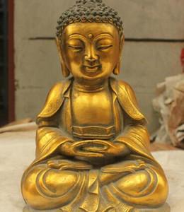 free Chinese Folk Culture Handgefertigte Bronze Messing Statue Skulptur schnell