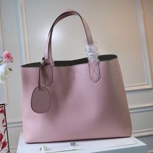 high quality The new 2019 both inside and outside the fashion bag brand designer fashion personality leather fashion shopping bag double ba