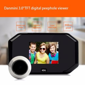 """Freeshipping 3.0 """"HD LCD Görüntüleyici Dijital Peephole Görüntüleyici Kamera 2.0MP Profesyonel Renkli Ekran Video-göz Video Kaydedici Gece görüş"""