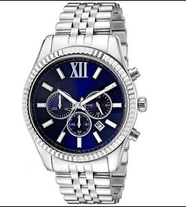 Luxury Модные Классические мужские часы mk8280 кварцевые часы бесплатную доставку.