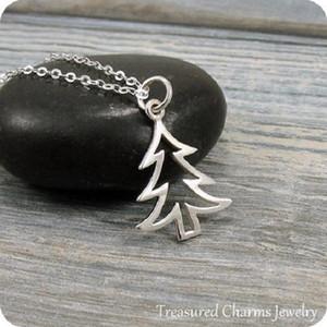 1 pc simples pequena árvore de natal pulseira sorte vida árvore pingente pulseira oca planta grande árvore pulseira para o natal melhor presente de jóias