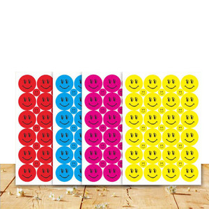 39Pcs sets Smile Face Children School Teacher Merit Praise Class Sticky Paper Lable Lovely Sticker Factory Price Sale 15 sets more Wholesale