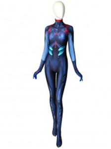 Rei Ayanami Neon Genesis Evangelion Anime Cosplay Costume 3D Print Spandex Zentai Catsuit for woman