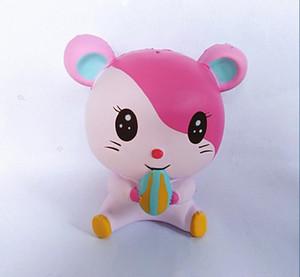 Hamster Squishy Brinquedos Anti Stress Brinquedo Lento Rising Descompressão Brinquedo Ao Ar Livre Fotografia Adereços HZT 004