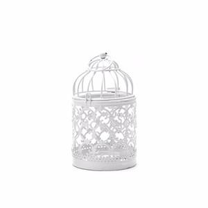 Candelabri decorativi a forma di cavità Tealight Candeliere a sospensione Lantern Bird Cage Candlesticks vintage Decorazione della casa