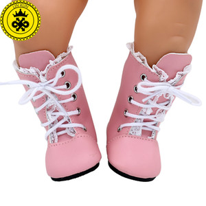 아기 태어난 인형 신발 5 스타일 귀여운 여러 가지 빛깔의 부츠 핑크 눈 부츠 맞는 43cm Zapf 아기 태어난 인형 액세서리 xie573