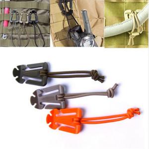 En plein air ITW Webdom Web Dominator Molle sac à dos mousqueton, EDC outil, corde élastique sangle boucle Winder LF026
