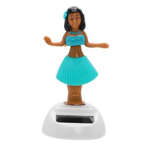 Kız Araba Süsleme Güneş Enerjili Sallanan Plaj Kız Pano Dekorasyon Oto İç Aksesuar Araç-stil Dancing