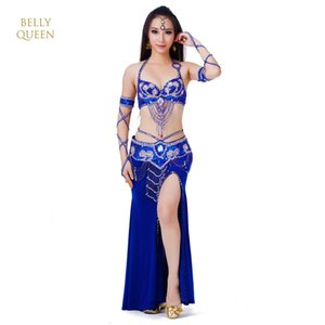2018 Nova 3pcs / set Belly Dance Costume Womens Belly Dancing Costume Define tribal vestido Bollywood Bellydance Vestido