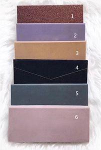 БЕСПЛАТНАЯ доставка! Известный бренд Палитра 14 ЦВЕТОВ палитры теней для век матовый и мерцающий макияж высокого качества 6 Дизайн