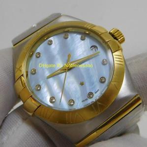 Top qualité Montre pour Homme Montre de Luxe Mens 38MM classique Constellation Diamant Quartz Mouvement Montres Homme Luxe Mens Watch