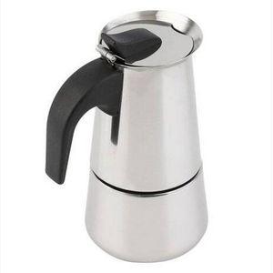 ¡Ventas al por mayor! 6 Taza cafetera de la estufa Top Coffee Moka Espresso Latte inoxidable Pot Coffee Sets de té Drinkware
