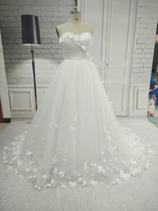 우아한 A 라인 민소매 긴 아가랑 웨딩 드레스 여성 Tulle Bridal Gown 지퍼 웨딩 드레스 무료 Wedding Veil and Gloves