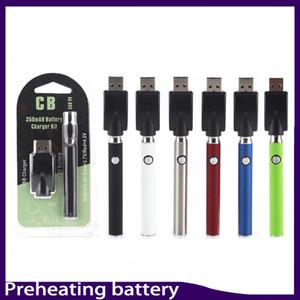 التسخين فيرتكس بطارية 350 مللي أمبير Pre-heat vs Touch Vape O Pen من أجل الحرية