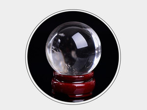 5cm Yellow white crystal ball for room and table decoration