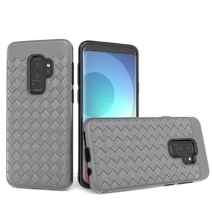 For LG Q7 plus Stylo 4 Aristo 2 Stylo 3 Alcatel 7 For Hybrid slim Case Protective Weave pattern case