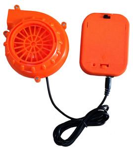 Cabeça pequena do traje da mascote Cabeça pequena do ventilador do sistema de refrigeração