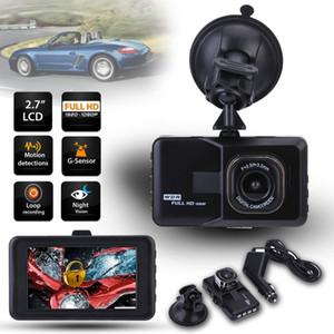 """1080P автомобильный видеорегистратор 3.0 """"приборной панели автомобиля DVR камеры видеорегистратор тире Cam G-Sensor GPS DHL Бесплатная доставка"""