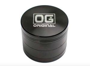 Colorful 40mm / 63mm 4layer marca OG herb grinder USA popolare zicn lega metallo tabacco smerigliatrice smerigliatrice VS sharpstone grinder