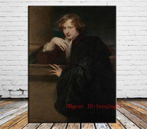 Sir Anthony Van Dyck, Toile Pieces Home Decor HD Imprimé Art Moderne Peinture sur Toile (Sans Cadre / Encadrée)