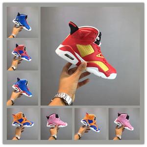Spiderman Iron Man bambina bambino Scarpe per bambini ragazzi giovanili scarpe da ginnastica scarpe da basket 6s Chaussures sneakers sportive Enfant taglia 28-35