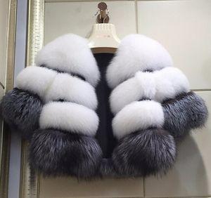 Neue Art und Weise Kleidung der Winterfrauen Faux-Pelz-Mantel-lange Hülse Damen Mantel Weiblicher Wintermantel