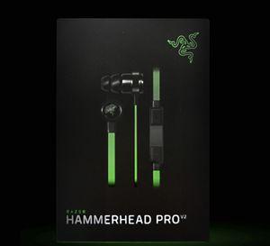 Razer Hammerhead Pro V2 أذن في سماعة الأذن مع ميكروفون مع صندوق البيع بالتجزئة في سماعات الأذن الألعاب شحن مجاني