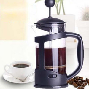 Drucktopfmethode French Press Kaffeekanne Glasteemacher Handgefertigte Kaffeefilter Pressentöpfe 350ml