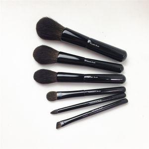 Z-Series (Z-1 Powder Z-8 Cheek Z-2 Resalta Z-5 Z-10 Sombra de ojos Z-6 Cejas) - Pinceles de mezcla de maquillaje de pelo de ardilla gris
