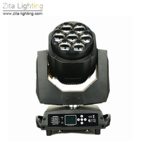 4Pcs / Lot Zita Lighting Stage Lights 7 * 15W LED Moving Head Light Beam RGBW DMX 512 Wedding Party DJ Effect lights Discover