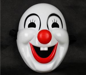 Halloween Jester Jolly Máscara Fontes Do Partido Festivo Venetian Mardi Gras Máscaras Para Masquerade Bolas PVC Cara Cheia Dos Homens Palhaço Máscara