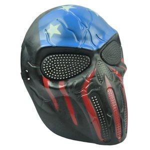 Chief Horror Masquerade Máscara Máscara Completa Rosto PVC CS Mask Máscara Protetora Para O Partido Cosplay Halloween NightClub Show