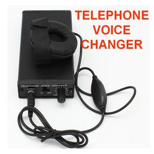 Alta calidad portátil Teléfono cambiador de la voz, en los teléfonos compatibles y se pueden utilizar en los teléfonos celulares, ligero y compacto, fácil de usar