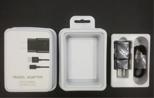 OEM качество США / ЕС / Великобритания 15W 100% быстрая зарядка зарядное устройство для настенного зарядного устройства + кабель типа C для Samsung S8 S7 2 в 1 с розничной упаковкой