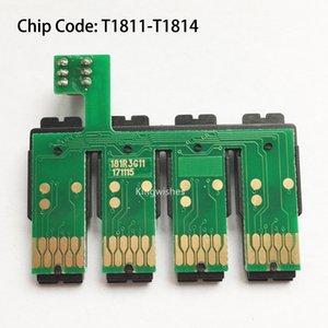 Puce combinée T1811-T1814 ARC CISS pour Epson XP-30 XP-102 XP-202 XP-205 XP-302 XP-305 XP-402 XP-405 XP-212 XP-215 XP-312