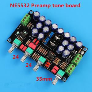 Junta tono de pre-amplificador de nivel NE5532 HIFI preamplificador de gama media con control de volumen graves y agudos