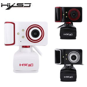 Livraison gratuite de 16 millions de pixels en tournant la caméra Web ajustée HD Clip-on 3 LED Webcam caméra USB avec micro Webcam pour Android TV Computer
