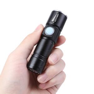 Leichte CYCLE ZONE USB wiederaufladbare Fahrrad Radfahren gestreckt Licht Fahrrad Front Taschenlampe mit Quick Release Clip