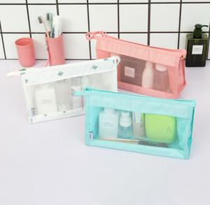 Trousse de maquillage pour sac à maquillage transparent imperméable pour femme.