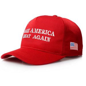 Make America Great Again Letter Print Donald Trump Hat 2017 Republican Snapback Baseball Cap Polo Hat For President USA