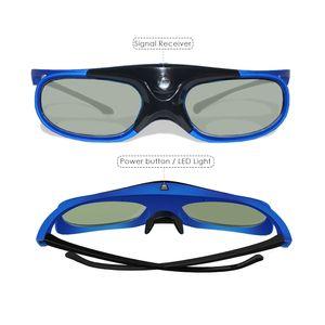 Occhiali Active Shutter DLP LINK 3D all'ingrosso con occhiali ricaricabili per 96-144Hz Tutti DLP Link 3D ready Proiettori 10 pz / lotto