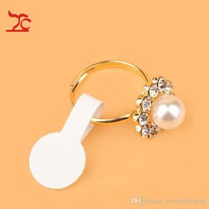 1200pcs anneau rond bijoux collant étiquette de prix de détail affichage tag auto-autocollant outil