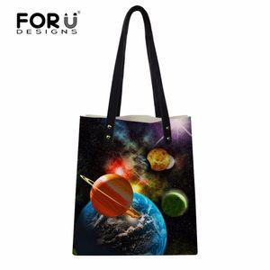 Forudesigns yeni varış galaxy pu deri el çantası kadın pu omuz çantaları çanta kadın günlük bolsa feminina bolso mujer