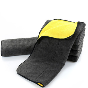 Paño del cuidado de coche de la toalla de la microfibra del lavado de coches del tamaño 30 * 60CM de LOONFUNG LF78