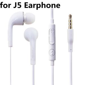 per cuffie J5 3.5mm Jack Auricolari stereo auricolare in-ear Cuffie cablate con microfono Controllo remoto del volume per Iphone Sony Samsung S7 S8 S9